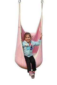 Amazon.com : HappyPie Frog Folding Hanging Pod Swing Seat Indoor and Outdoor Hammock for Children to Adult (Pink) : Patio, Lawn & Garden