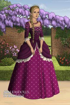 Arlette ~ by mythologydiva ~ created using the Tudors doll maker   DollDivine.com Me: Princess Arina of Caulfield
