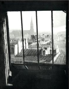 Germaine Krull, Paris Rooftops, 1930s