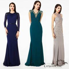 Madrinhas de casamento: Vestidos de festa elegantes e discretos