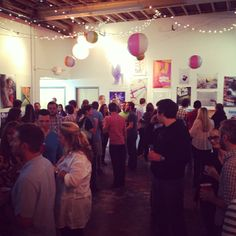 Amazing space for artists in town to share studios.