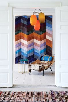 I like this idea with the color scheme I have of caribbean colors -- not so much brown and orange.