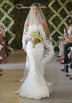 oscar de la renta wedding gown spring 2013 #Wedding Photos #Wedding #wedding photography