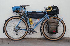 I Got the Blues: a Bombus Bikes Blue Steel Tourer – Kyle Kelley   The Radavist