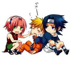 sakura,naruto and sasuke