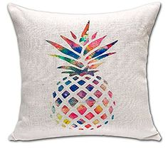 Pineapple Cushion Cover ChezMax Cotton Linen Throw Pillow Case Sham Square Pillowcase For Bedding Bedroom Decoration Decor #hologram #rad #holographic #pineapple #love #lamp #decor #roomdecor #decor #room #yellow #light #lightup #love #galaxy #lightup #room #hippy #moon #stars #eclipse #rooms #decor #hip #rad  #flower #roomlights   #neonlights  #cactus #marble #jewlery #holder #pillows #sun #summer #tapestry Decorative