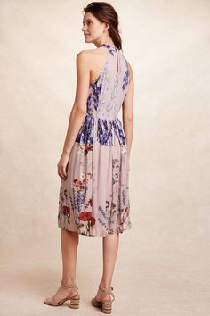 Petaline Midi Dress - anthropologie.com