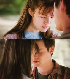 I told you not to fall in love with me ... - A Walk to Remember (2002) #Nicholas Sparks