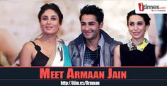 Meet #ArmaanJain, the latest from the Kapoor clan, who is making his Bollywood debut with #LekarHumDeewanaDil. Click here to know more about him
