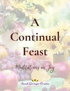 My new printable course is based on this scripture - For the despondent, every day brings trouble;for the happy heart, life is a continual feast. Proverbs 15:15 NLT Meditations on joy for you! #joy #choosejoy #printable #christianmeditation Spiritual Health, Spiritual Gifts, Spiritual Growth, Christian Living, Christian Faith, One Year Bible, Christian Meditation, Strong Faith, Joy Of The Lord