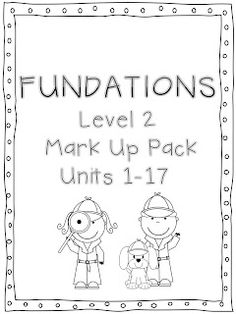 Fundations Letter Chart Colored & Black & White: Freebie