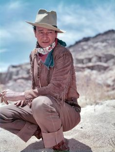 John Wayne: The Genuine Article— Inside the legendary actor's personal archive…                                                                                                                                                                                 More