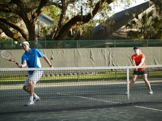 Improve your tennis game with tips for tennis doubles by the Omni Amelia Island Plantation tennis pros at Cliff Drysdale Tennis on Amelia Island Yonex Tennis, Tennis Doubles, Tennis Serve, Tennis Games, Tennis Tips, Tennis Match, Tennis Elbow, How To Play Tennis, Play Golf