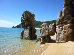 #AbelTasman #Coast Track  #Beach #Rocks #Strand #Neuseeland #NewZealand #Natur #Nature
