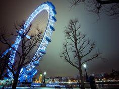 London Eye iluminado