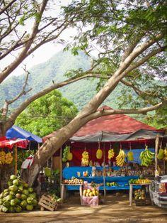 Puestos al borde de carrera Manzanillo Colima venden dulces tradicionales a base de coco,tamarindo, guayaba, yaca, nanche, y gayabilla.