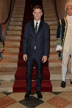 Model George Barnett at the Valentino Ball at Palazzo Volpi during the 70th Venice International Film Festival on September 4th 2013 in Venice