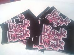 Punk In Pink's Business cards!