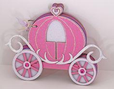Photo Album - Cinderella Carriage 14 pages. $25.00, via Etsy.