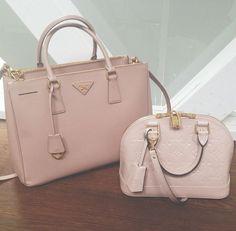 Prada & Louis Vuitton || More Fashion at www.misskady.com ||