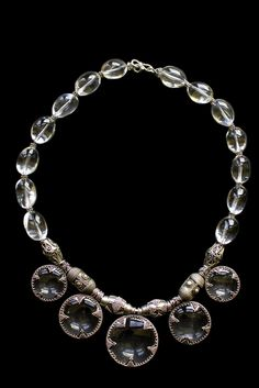 Repoduction of a Viking Age Gotland Crystal Necklace