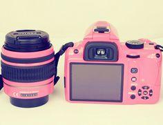 Pink Nikon Digital Camera | LUUUX