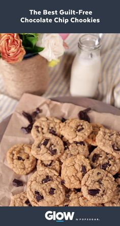Satisfy your sweet tooth with these guilt-free chocolate chip cookies. Let's not forget they're vegan, dairy-free, and packed with protein.
