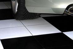 """EX Tile Smooth Pattern Interlocking 12"""" x 12"""" Tile"""