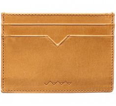 Picture of Berg & Berg Vachetta leather card holder in natural