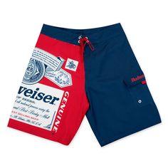 Budweiser Men's Label Board Shorts