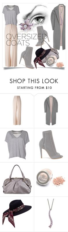 """""""Chic Oversized Coats"""" by kari-c ❤ liked on Polyvore featuring STELLA McCARTNEY, Mother of Pearl, Acne Studios, Gianvito Rossi, Gucci, Chanel and oversizedcoats"""