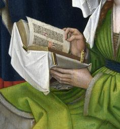 Rogier van der Weyden - The Magdalen Reading (detail)
