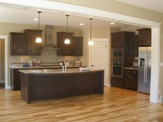 l shaped kitchen layouts with corner pantry - Google Search