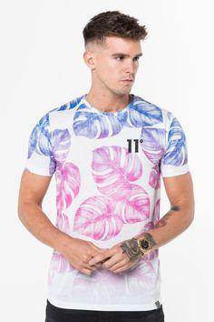 df234395 Muscle Fit T-Shirt - Vineyard | 11 Degrees | Tees | Mens tops, Mens ...