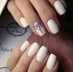 Beautiful nail art designs that are just too cute to resist. It's time to try out something new with your nail art. Trendy Nail Art, Stylish Nails, Love Nails, Fun Nails, Art Simple, Nagellack Trends, Manicure E Pedicure, Nagel Gel, Fabulous Nails
