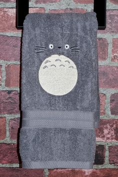 Hey, I found this really awesome Etsy listing at http://www.etsy.com/listing/128493776/totoro-my-neighbor-totoro-kawaii-towel