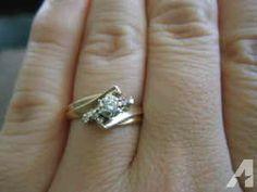 Unique Design Diamond Ring - $250 (Fort Caroline)