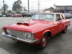 1963 Plymouth Savoy with 426 Max Wedge - I have dreams of owning one of these and driving it around and scaring the neighbors.