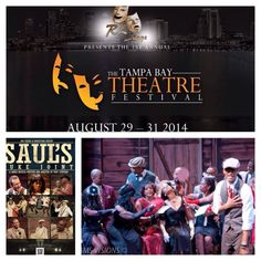 Tampa's own Saul's Juke Joint written and directed by Tony Stinyard was a big hit at the Tampa bay Theatre Festival. #TBTF