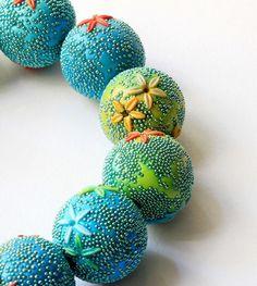 polymerclayfimo: Украшения с микробисером и перлексом