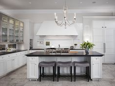 White Kitchen. House Beautiful Kitchen of the Year. dark counter dave burk Photos: A kitchen style that will never go out of fashion
