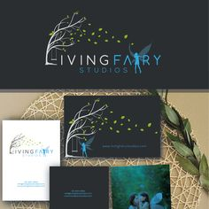Magical logo needed for Living Fairy Studios by original photography
