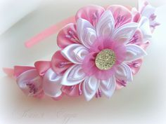 ekaterina.edush beautiful kanzashi