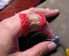 The Crocheter's Finger Saver Wrap.