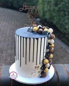 Cake Decorations, Sponge Cake, Red Velvet, Birthday Cake, Pastel, Cakes, Navy, Desserts, Instagram