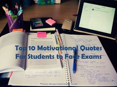 Motivating Quotes for Students To Face Exams, Motivational Quotes For Exams…
