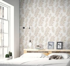 Botanica Scandinavian large wall stencil for DIY project - Floral wall stencil look, easy Home Decor, Stencilit wall stencils for painting Decor, Wall, Stencils Wall, Stencil Painting On Walls, Easy Home Decor, Interior, Large Wall Stencil, Home Decor, Home Decor Tips