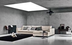 Nologo basic sofa chaise by Saba