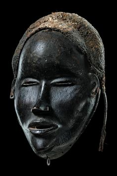 Dan Tankagle Mask, Ivory Coast http://afriart.tumblr.com/post/90197143894/ivory-coast-dan-tankagle-entertainment-mask