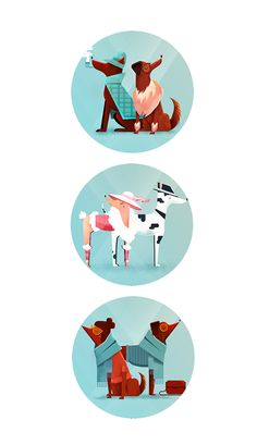 Dogs Everywhere on Behance